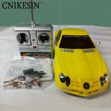 Cnikesin DIY Kit автомобилей 9901 дистанционного управления автомобилем комплект | электронных компонентов Производственный комплект DIY электронного обучения комплект (без батареи)