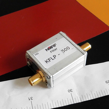 Free shipping KFLP-500 433MHz high power low pass filter, RF coaxial LC, LPF, SMA 500MHz
