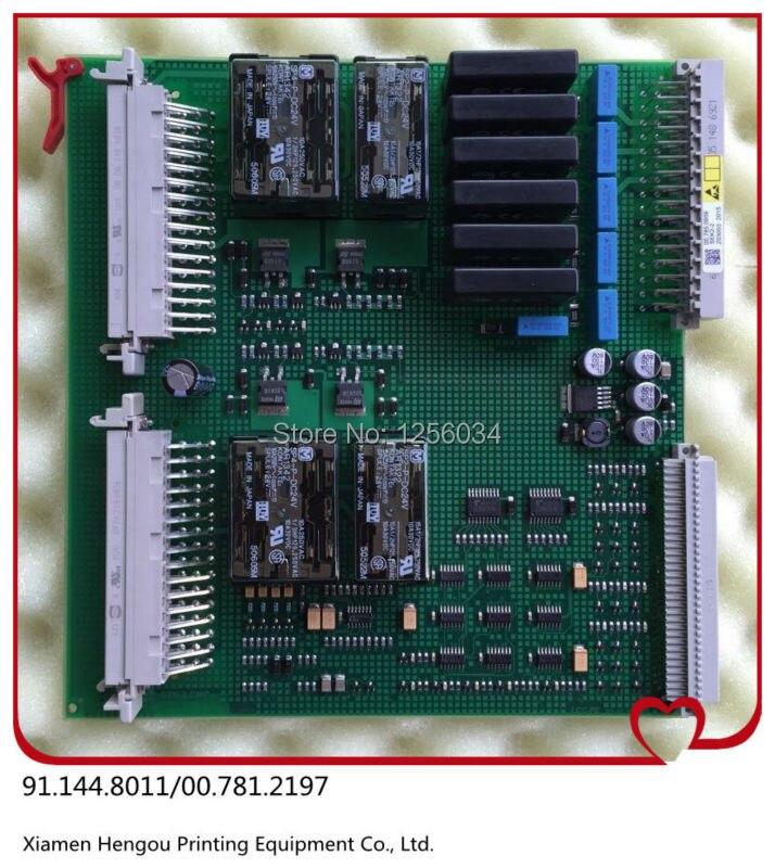 1 piece Heidelberg STK,91.144.8011,00.781.2197,STK-2 board,heidelberg STK board,heidelberg replacement parts 91.144.8011/02B