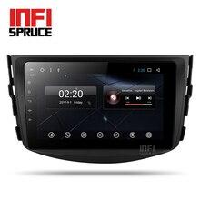 Dvd-плеер для toyota rav4 2007 2008 2009 2010 2011 автомобилей gps 8-core Android 7,1 навигация построена В Мультимедиа Радио Bluetoot