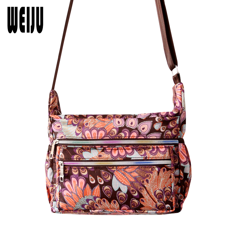 WEIJU New Woman Shoulder Bag Crossbody Bags for Women Casual Printing Women Messenger Bags Bolsa Feminina 8 Color