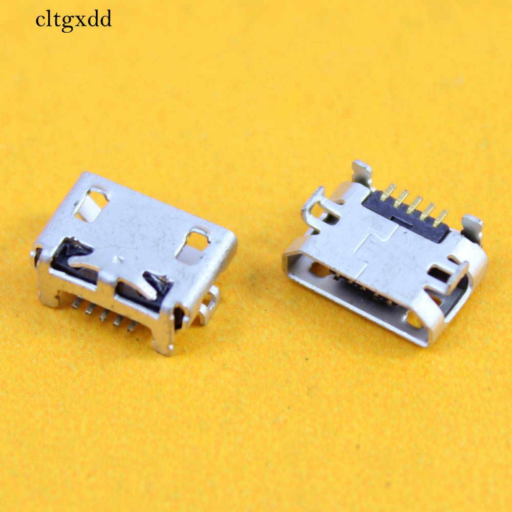 Cltgxdd nuevo Mini conector USB Jack para Huawei P6 G610 C8815 C8816 3C 3X G700 G730 G750 G710 G700 de carga puerto