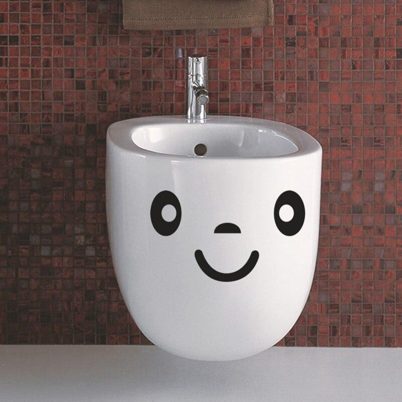 Toilet Sticker Cute Stickers Bathroom Home Decor Wall Stickers For Toilet Vinyl Wall Sticker For Kids