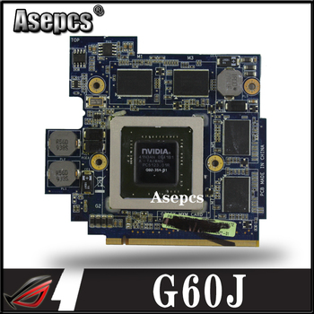 Asepcs High quality For Asus G60JX VGA CARD Graphic Card N11E-GS1-A3 GTS360M GTX 360M 1GB 100% Tested Fast Ship