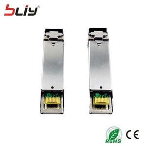 Image 3 - Bliy Módulo SFP de fibra simple conector SM 5km LC 1,25 BASE 1310nm/1550nm WDM DDM BiDi transceptor mikrotik gbic, 5 pares