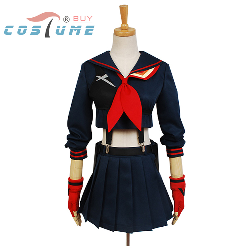 KILL la KILL Ryuko Matoi Cosplay Kostymer Japansk Anime Party Halloween Kostymer För Kvinnor Flickor Klänning Custom Made