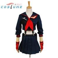 TÖTEN la TÖTEN Ryuko Matoi Cosplay Kostüme Japanischen Anime Party Halloween Kostüm Für Frauen Mädchen Kleid Nach Maß