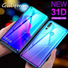 Front and Back 31D Full Cover Screen Protector Film For Huawei P30 30Pro P20 Pro Honor 8X 9 10 Lite Soft HD Clear Hydrogel Film(China)