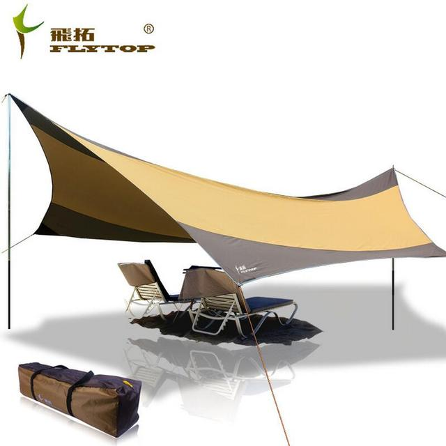 FLYTOP Recreation Outdoor Tent Shelter The Sun Awning Collapsible Gazebo Canopy Beach Tents C&ing Sun Shade  sc 1 st  AliExpress.com & FLYTOP Recreation Outdoor Tent Shelter The Sun Awning Collapsible ...