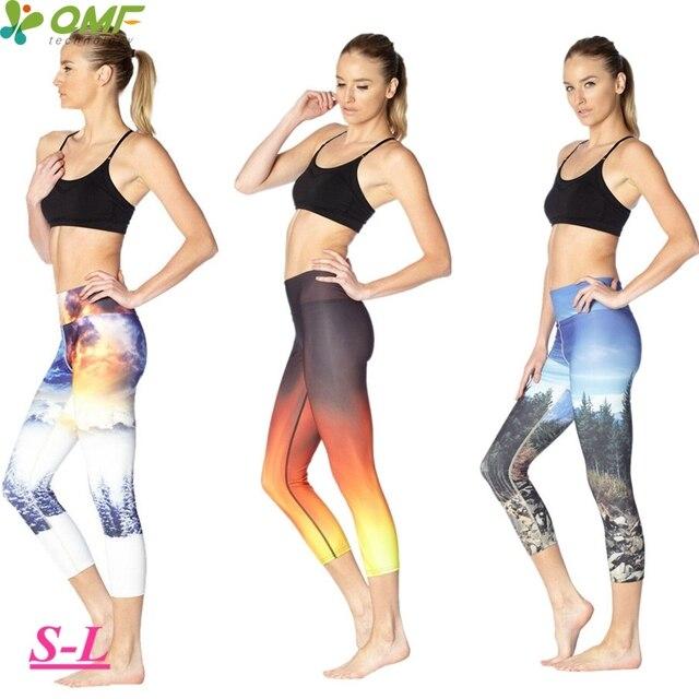 Or-Flamme-Br-lante-Cultures-Collants -Journ-e-Ensoleill-e-For-t-Yoga-Capri-Leggings-Blanc.jpg 640x640.jpg eee24b92ed4
