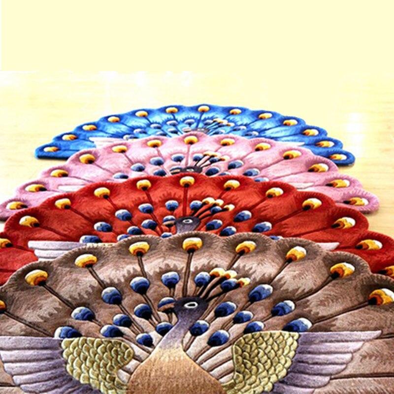 Традиционный китайский Цветочные ковры для Гостиная смешанной шерсти коврики для Спальня диван Кофе таблица коврик вилла исследования ков...