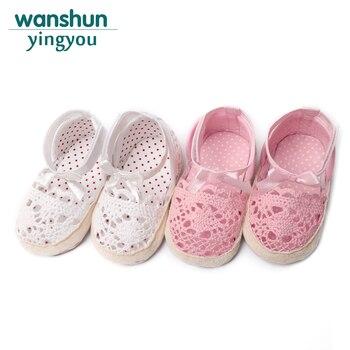 Dziewczęce sandałki buciki antypoślizgowe dla niemowląt