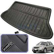 Коврик для багажника для SUZUKI SX4 Хэтчбек, подкладка для багажника SEDICI 2006 2013, защита для напольного ковра 2007 2008   2011 2012