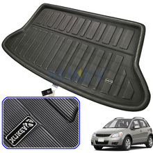 אחורי מטען עבור סוזוקי SX4 Hatchback SEDICI אתחול אוניית 2006 2013 מגש רצפת שטיח מגן 2007 2008   2011 2012