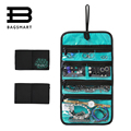 BAGSMART Rolling Jewelry Storage Bag Necklace Holder Earring Ring Pouch Bracelet Watch Organizers Jewelry Bags Travel in Handbag