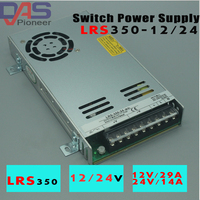 Single Output Switching Power Supply LRS 350 24 24V 14.6A LRS 350 12 12V 29A Led Power Supply CCTV / LED Strip Source Power