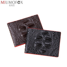 Driver License Holder Wallet Genuine Leather on Cover for Car Driving Documents Credit Card Holder Alligator Pattern Thin Purse jinbaolai driver license holder leather cover for car driving documents business card holder id card holder