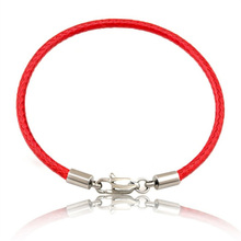Fashion Classic Rope Leather Black Bracelet Red Thread Line Jewelry Red String