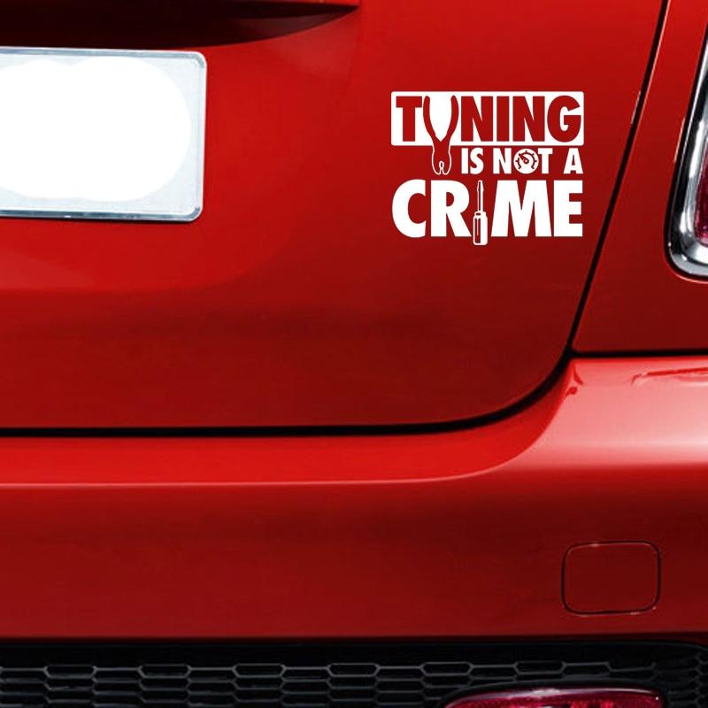 DRIFTING IS NOT A CRIME II XL 1105 //// Sticker JDM Aufkleber Frontscheibe