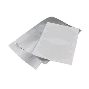 Image 2 - Супер тонкие коллагеновые патчи для глаз с гиалуроновой кислотой, 200 пар, безворсовые гелевые подушечки для глаз, не чувствительные