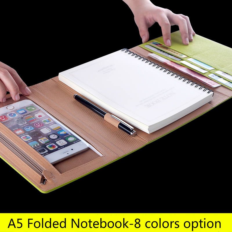 A5 spiral creative notebook stationery business diary office hand book binder agenda colorfulA5 spiral creative notebook stationery business diary office hand book binder agenda colorful