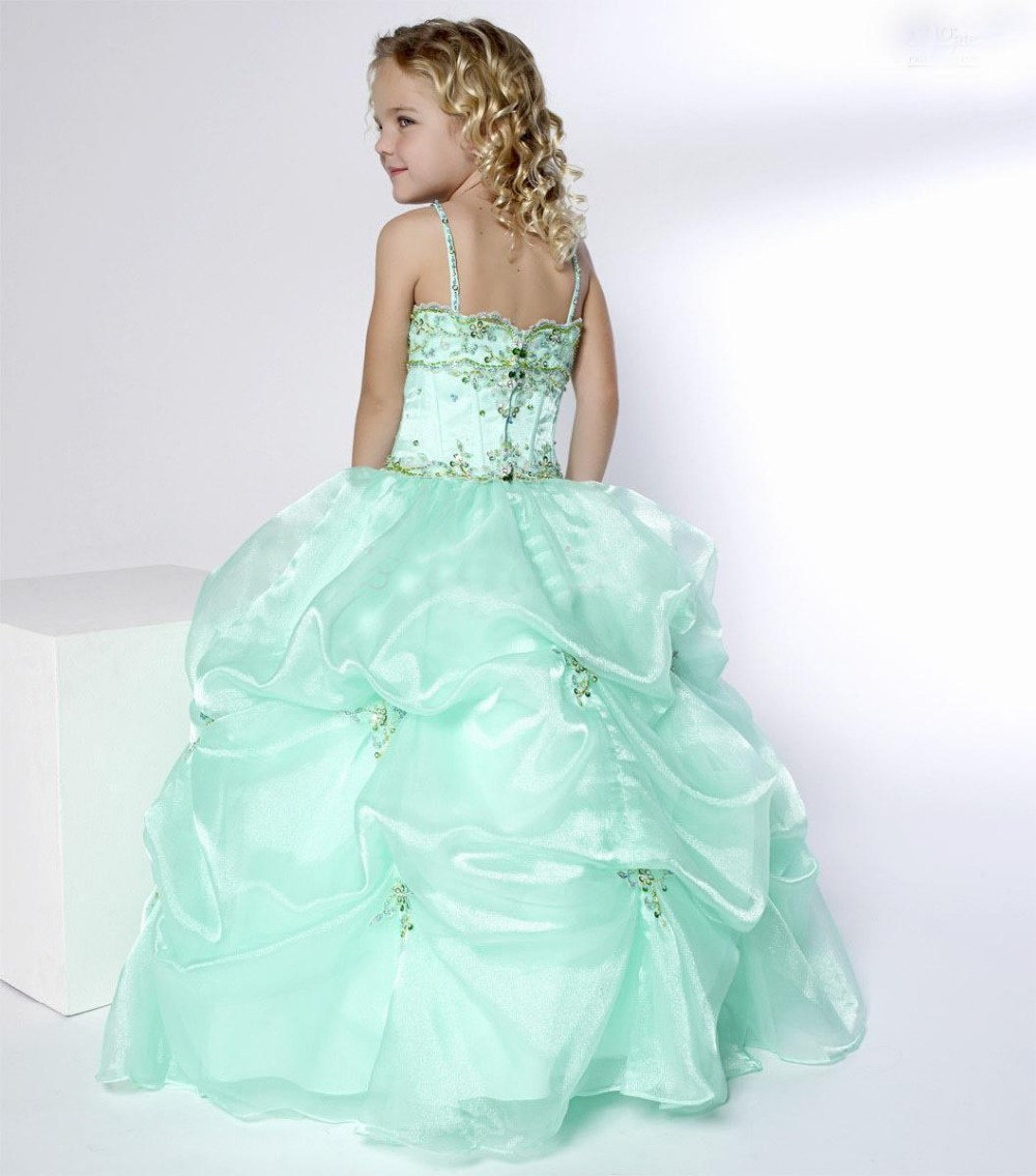 New pattern beading flower girl dresses in flower girl for Wedding dress beading patterns