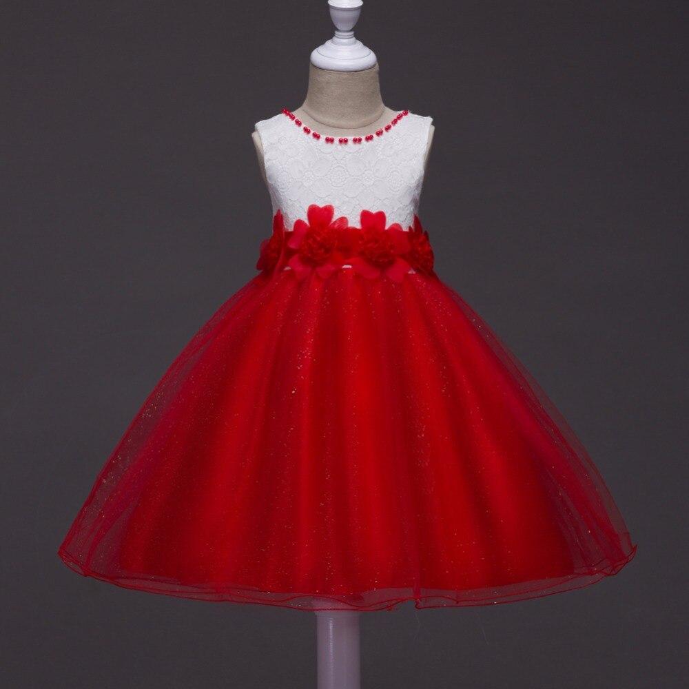 I LoveWedding Flower Girl Dresses First Communion Dresses Baby Girl Clothes