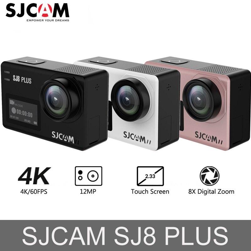 D'origine SJCAM SJ8 Plus caméra d'action 4 K 1200 mAh Étanche Sport caméra d'action WiFi À Distance caméra vidéo caméra de voiture hd enp