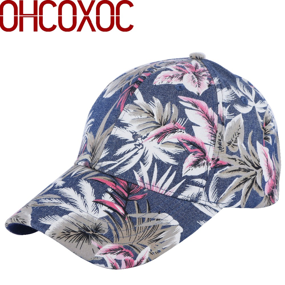100% cotton high quality women casual   baseball     cap   hat print floral style adult size boy girl beauty   caps   new   baseball     cap
