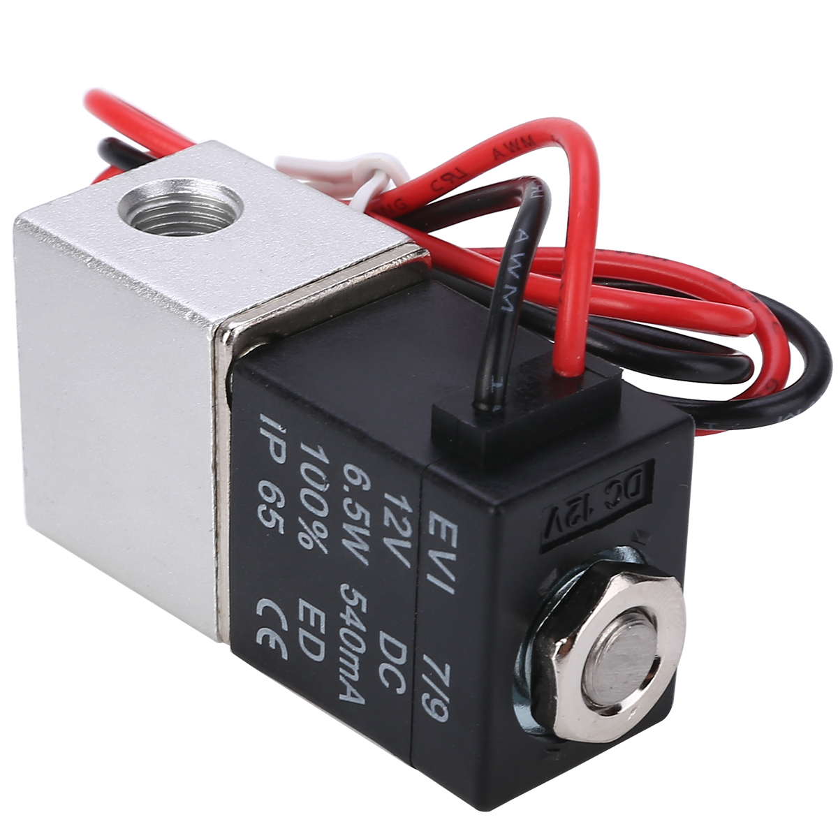 """1Pc Stainless steel Electric Solenoid Valve New Solenoid Valve DC 12V 1/8"""" Electric Solenoid Valve for Water Air"""