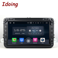 Idoing Car DVD 2 Din Player 8 Inch Steering Wheel For Volkswagen VW GOLF5 6 POLO