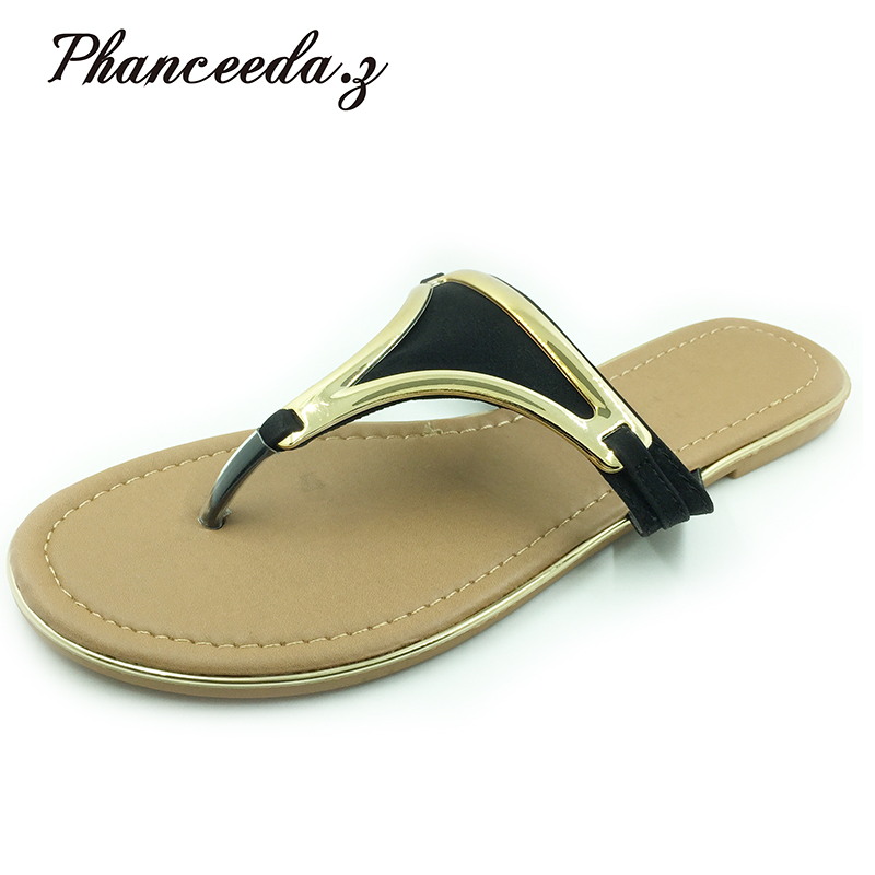 16900f5363b6d New 2018 Big Size 6 - 11 shoes women sandals Shoes Summer Fashion Slippers  Women