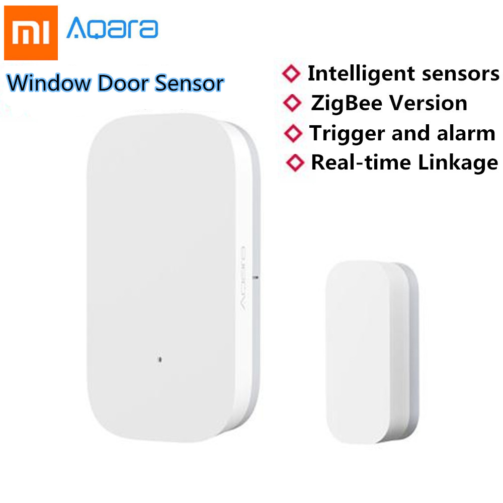 Back To Search Resultsmother & Kids Xiaomi Aqara Smart Window Door Sensor Intelligent Home Security Equipment With Zigbee Wireless Connection With The Best Service Safety Equipment