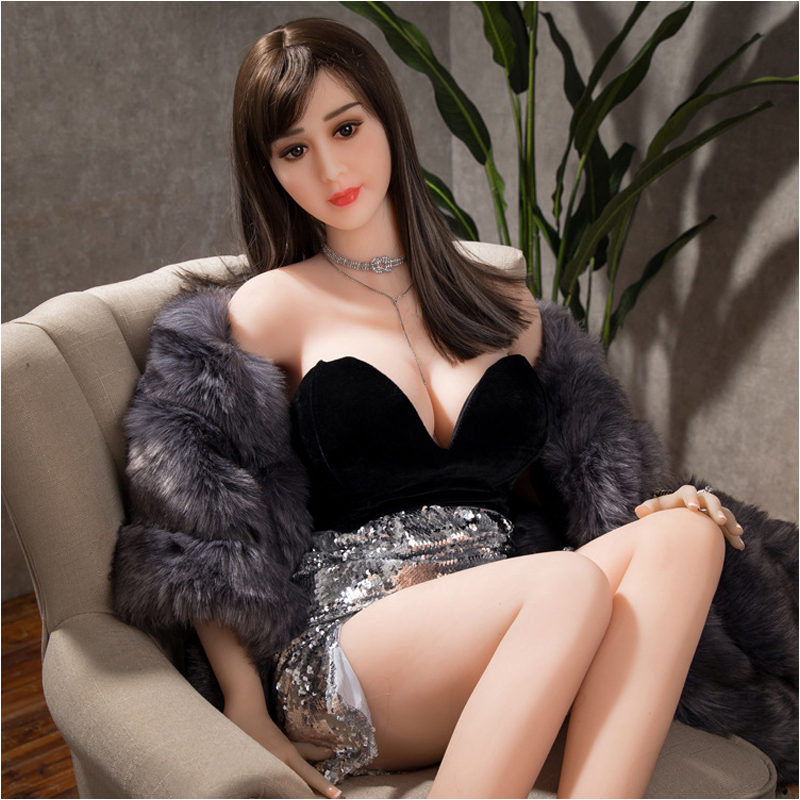168cm <font><b>148CM</b></font> <font><b>Sex</b></font> <font><b>Doll</b></font> Real Silicone Love <font><b>Dolls</b></font> Lifelike Breasts Vagina Anal Metal Skeleton Non Inflatable <font><b>Sex</b></font> <font><b>Doll</b></font> image