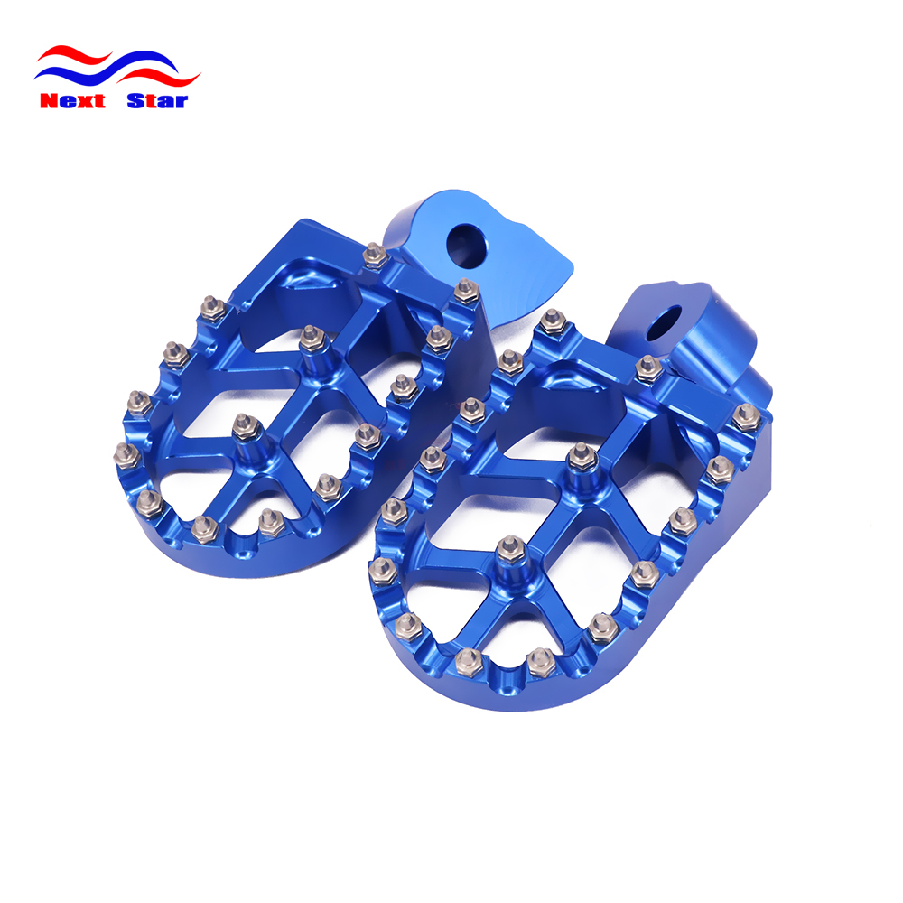 Foot Rests Footrest footpegs Pegs Pedals For YAMAHA YZ 85 125 250 426 YZ125X 2017 WR250F WR400F WR426F WR450F 250CC 426CC 450CC мотоцикл construction yamaha 250cc