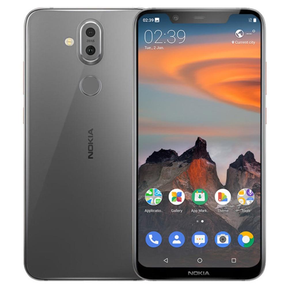 NOKIA X7 TA-1131 6 GB RAM 64 GB ROM Snapdragon 710 2.2 GHz Octa base 6.18 Pouces FHD + plein Écran Android 8.1 4G smartphone ite