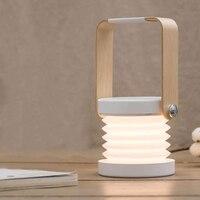 ArtPad Nordic Wiederaufladbare Laterne Lampe Einstellbare Blitz Nachtlicht Mit Falten Design Dimmbare LED Schreibtisch Lampe zum Lesen-in Schreibtischlampen aus Licht & Beleuchtung bei