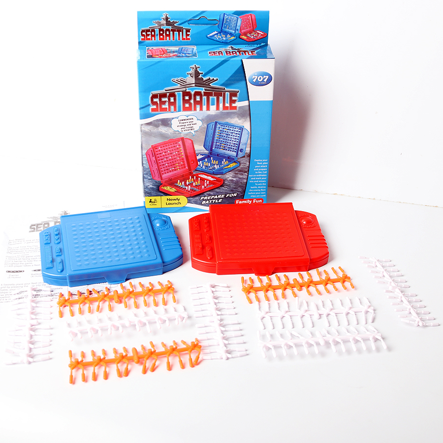 Battleship Sea Battle The Classic Naval Combat  Combat Strategy Family Party Game Parent Child Interactive Educational Toys