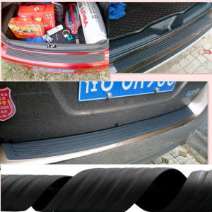 Car Rear Bumper Rubber Sticker For Volkswagen VW Polo Passat B5 B6 CC GOLF 4 5 6
