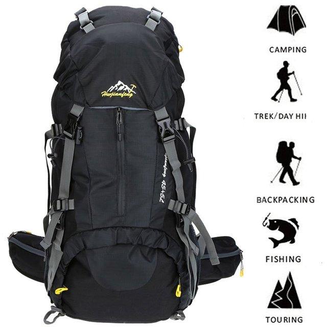 Aliexpress.com : Buy 50L Outdoor Camping Backpack Waterproof ...