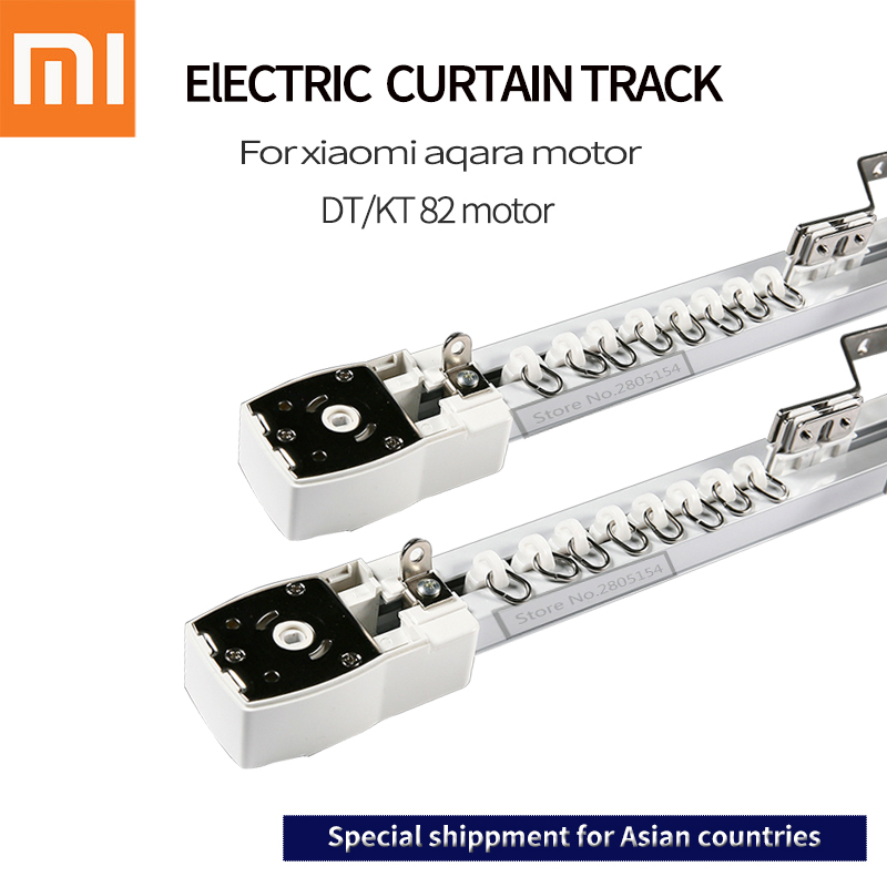 electric-curtain-track-for-xiaomi-aqara-dooya-kt82-dt82-motor-customizable-super-quite-for-smart-home-for-asial-country