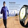 2016 Moda Rwatch DM368 Smartwatch Reloj Bluetooth Inteligente con Pantalla LED Reproductor de Música de La Muñeca De La Salud Pulsera Heart Rate Monitor