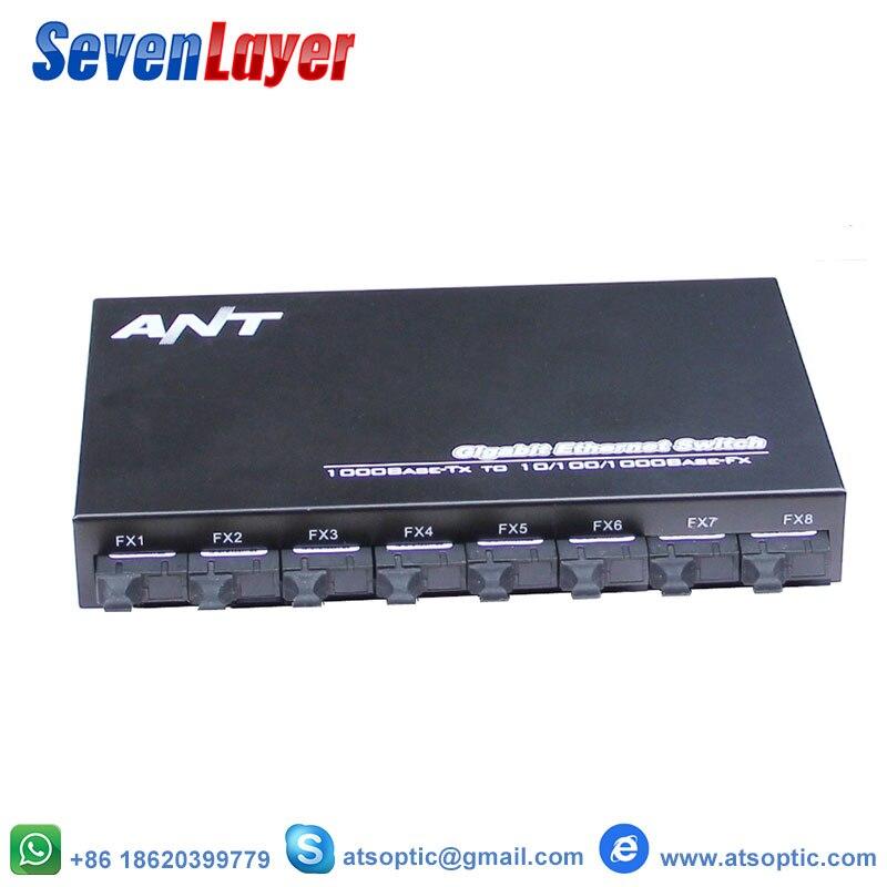 10/100/1000M  8 1.25G Fiber Port 2 RJ45 Fiber Optical switch UTP Industrial Grade Gigabit Ethernet Switch Single Fiber10/100/1000M  8 1.25G Fiber Port 2 RJ45 Fiber Optical switch UTP Industrial Grade Gigabit Ethernet Switch Single Fiber