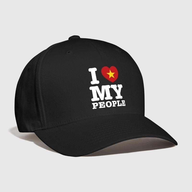 I Heart (Love) My Viet People Embroidery Customized Handmade asian azn  communist ho chi minh saigon sriracha swag Curved Dad hat 79636dae2ec
