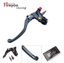 Fireyouracing Motorcycle Cable Clutch Line Drum Lever CNC 22mm 7/8