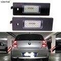 2 шт. Canbus безошибочный светодиодный номерной знак светильник лампа для BMW E81 E87 E63 E64 M6 E85 E86 Z4 F12 F13 F20 K48