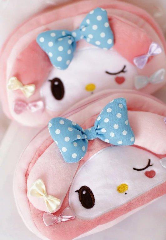 Plush toy 1pc 20cm my melody sweet bowknot zero <font><b>case</b></font> little <font><b>phone</b></font> bag stuffed toy cute creative gift for baby