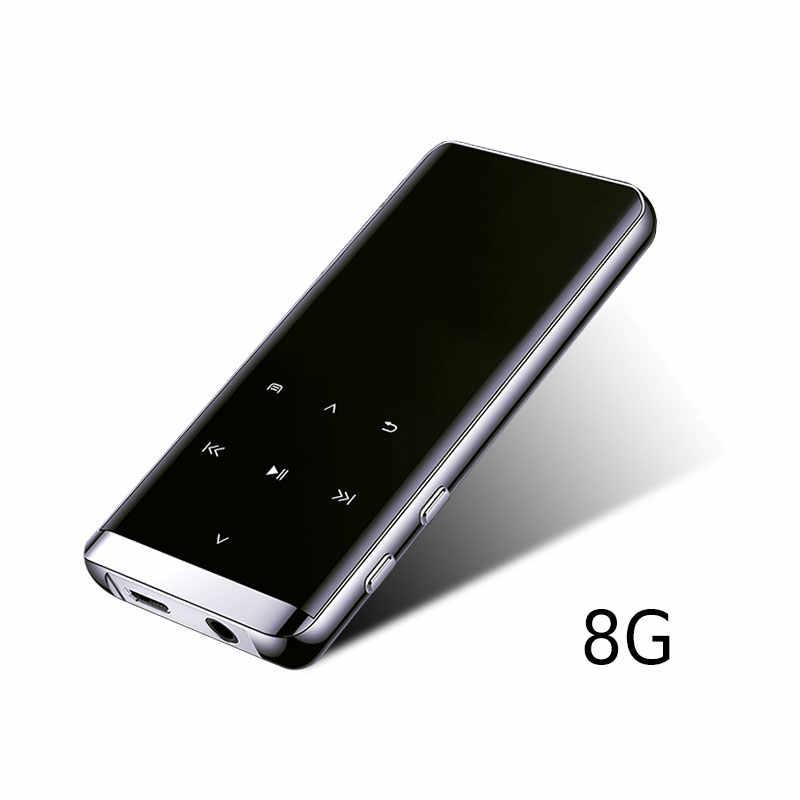 高速新スタイル MP4 プレーヤー Bluetooth ミニ MP5 ロスレスハイファイ 5D タッチスクリーンウォークマンの音楽プレーヤー GY88