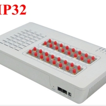 GoIP32 gsm voip с 32 sim-портами GoIP32 для ip-атс/роутера/поддержки смс и DBL SIM Bank