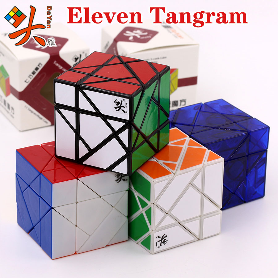Magic Cube Puzzle Dayan 5 Axis 3 Rank Cube Extreme Eleven 11 Tangram Master Collection Must Twist Toys Game Z